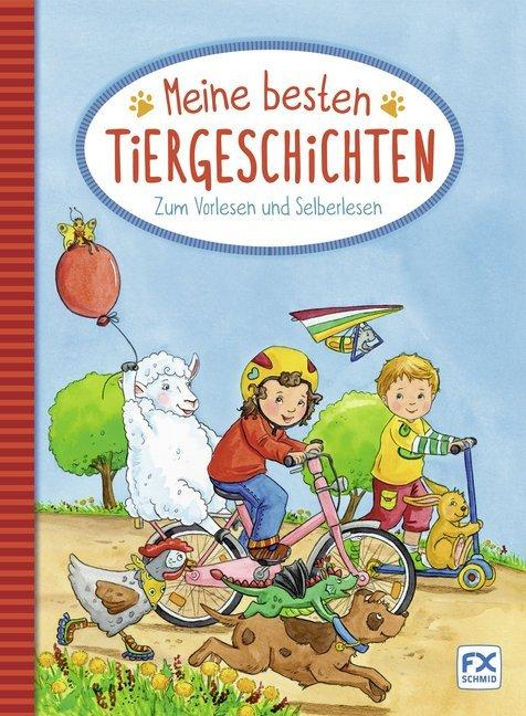 Meine besten Tiergeschichten zum Vorlesen und Selberlesen als Buch (gebunden)