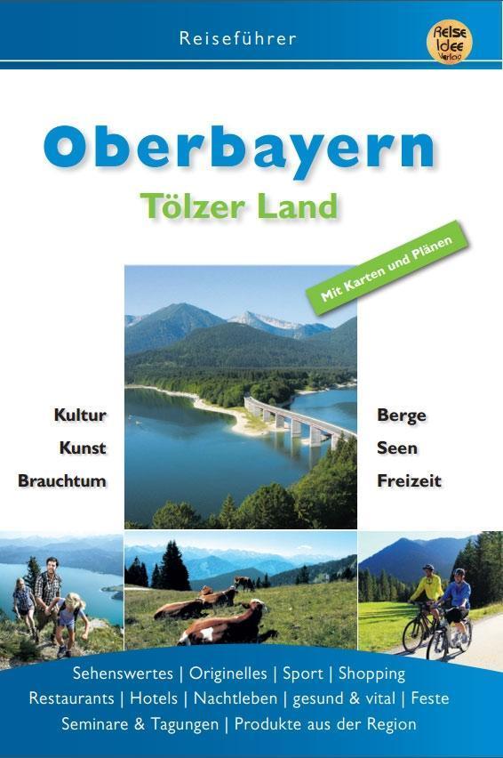 Oberbayern als Buch (kartoniert)