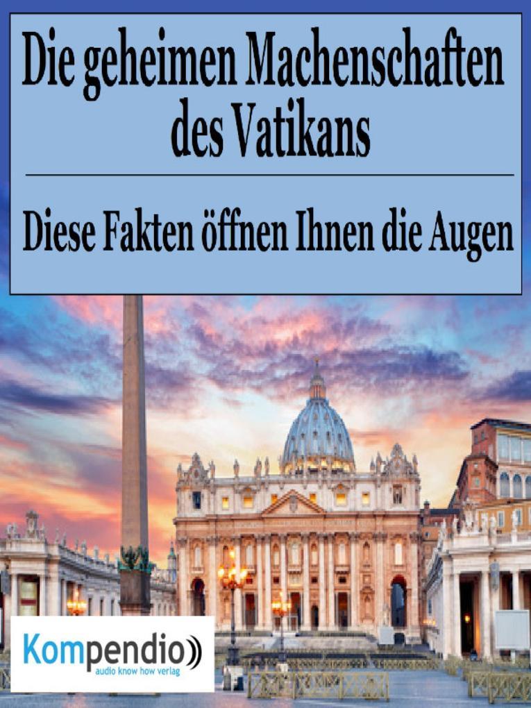 Die geheimen Machenschaften des Vatikans als eBook epub