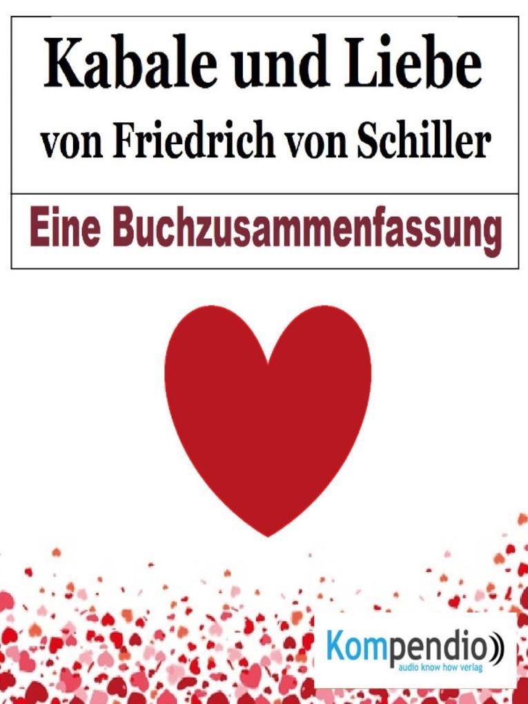 Kabale und Liebe von Friedrich von Schiller als eBook epub