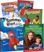 Learn-At-Home: Summer Stem Bundle with Parent Guide Grade 3