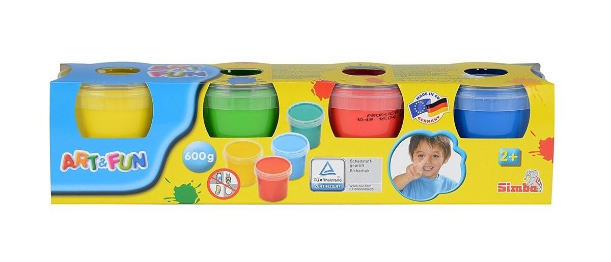Simba - Art & Fun - Fingermalfarben als Spielware