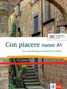 Con piacere nuovo A1. Kurs- und Übungsbuch + 1 CD