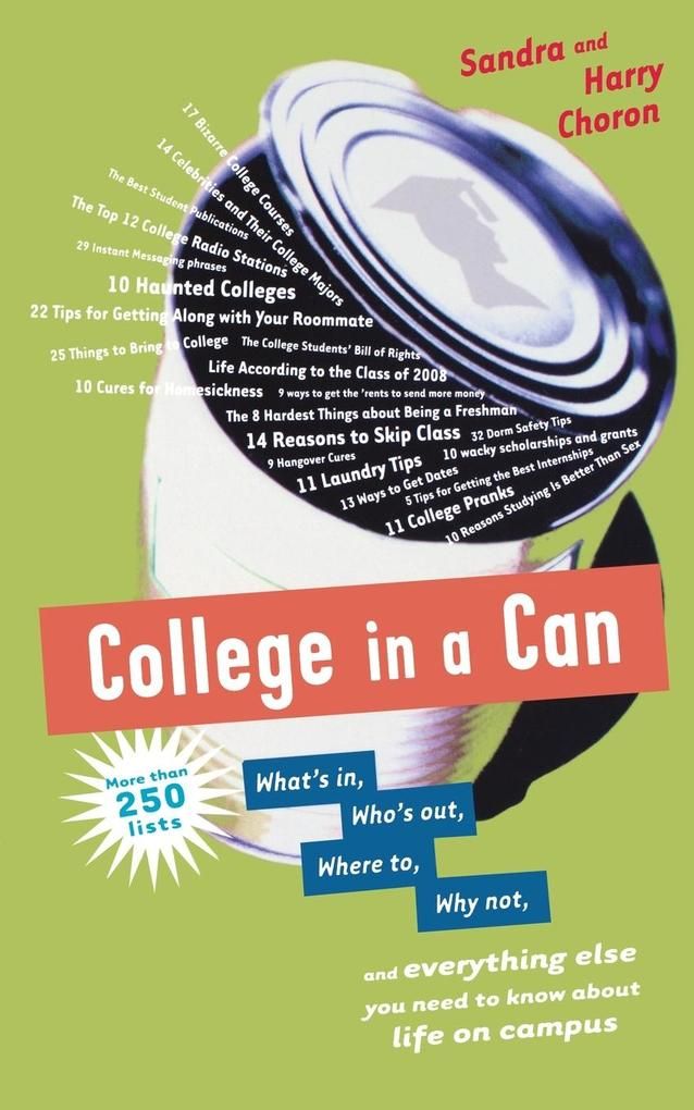 College in a Can als Taschenbuch