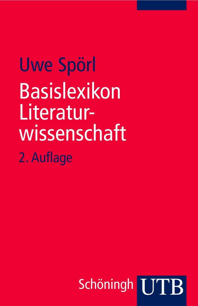 Basislexikon Literaturwissenschaft als Buch (kartoniert)