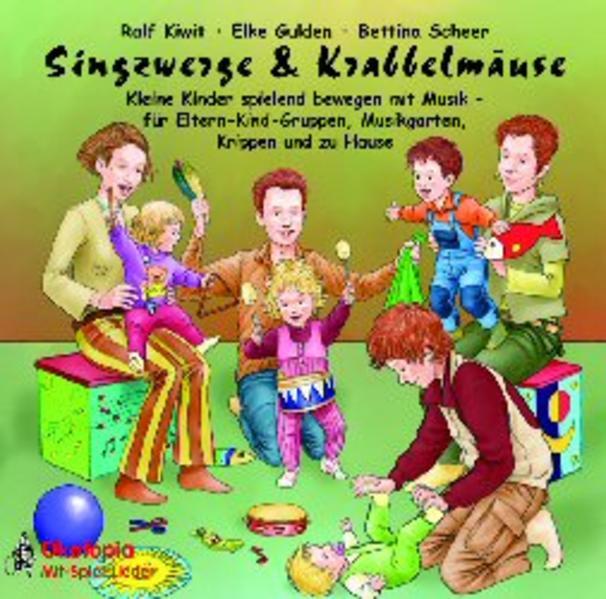 Singzwerge & Krabbelmäuse, 1 Audio-CD als Hörbuch CD