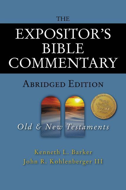 The Expositor's Bible Commentary - Abridged Edition: Two-Volume Set als Buch (gebunden)