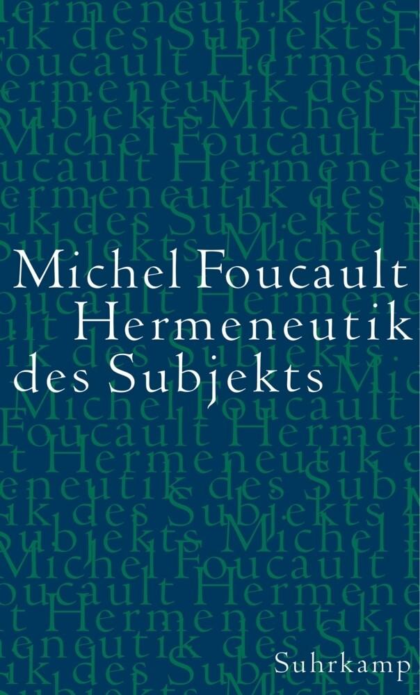Hermeneutik des Subjekts als Buch (gebunden)