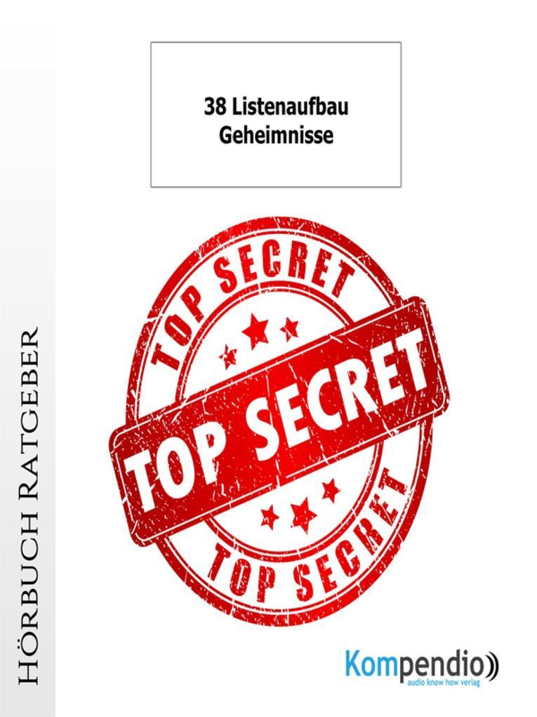38 Listenaufbau-Geheimnisse als eBook epub