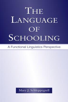 The Language of Schooling als Taschenbuch