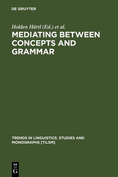 Mediating between Concepts and Grammar als Buch (gebunden)