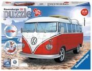 Ravensburger Spiel - 3D Puzzles - VW Bus T1, 162 Teile
