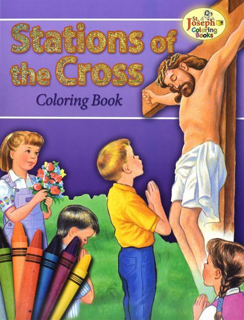 Coloring Book about the Stations of the Cross als Taschenbuch