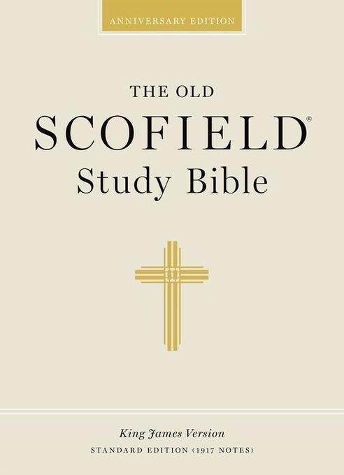 Old Scofield Study Bible-KJV-Standard als Buch (Ledereinband)