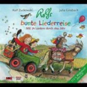 Rolfs bunte Liederreise. CD als CD