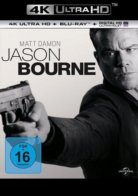 Jason Bourne als DVD
