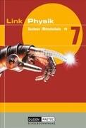 Link Physik 7. Schülerbuch. Mittelstufe. Sachsen