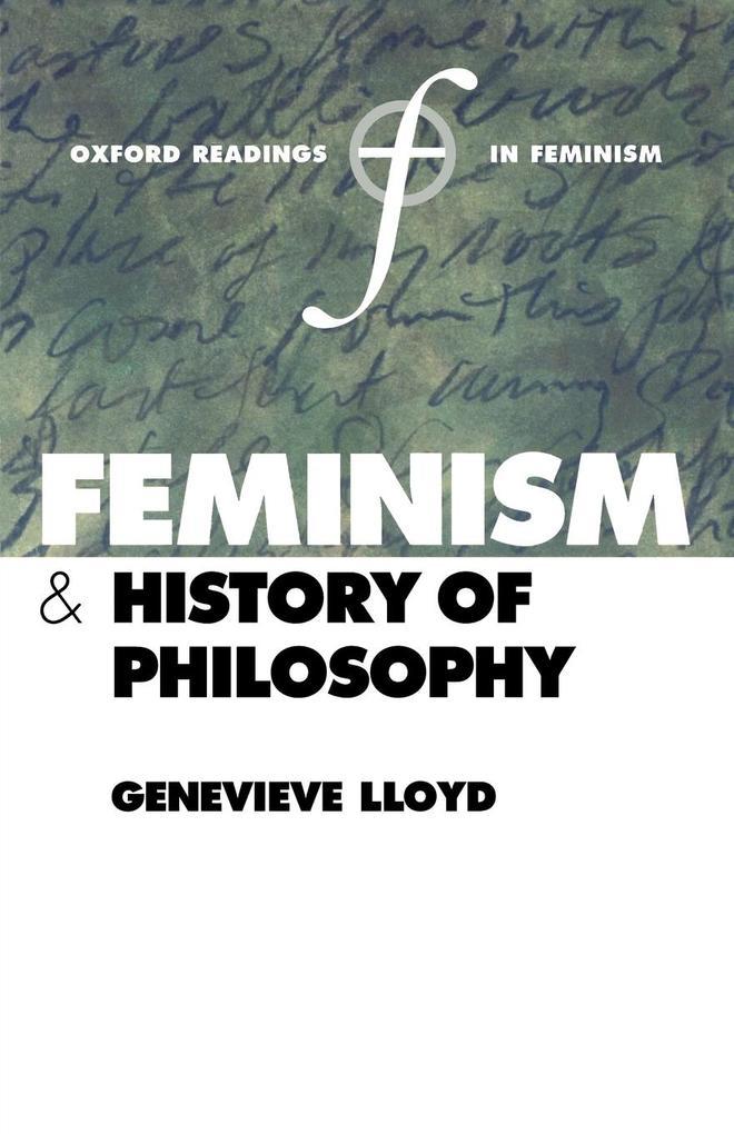 Feminism and History of Philosophy als Buch (kartoniert)