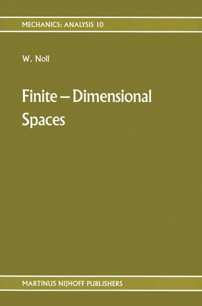 Finite Dimensional Spaces als Buch (gebunden)