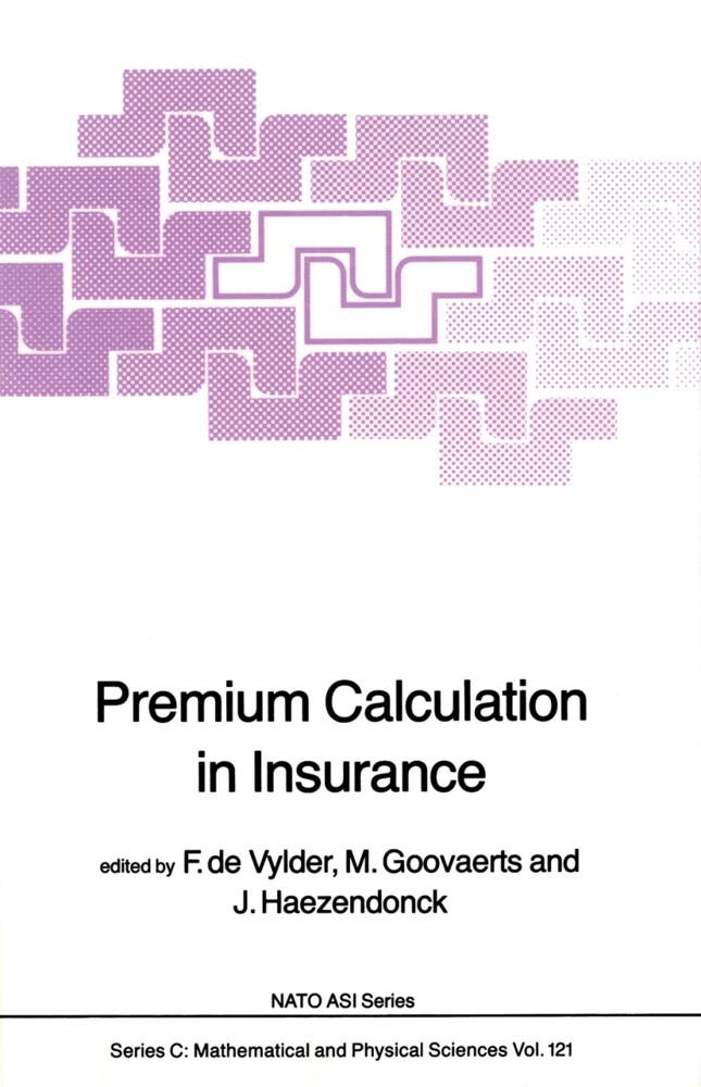 Premium Calculation in Insurance als Buch (gebunden)