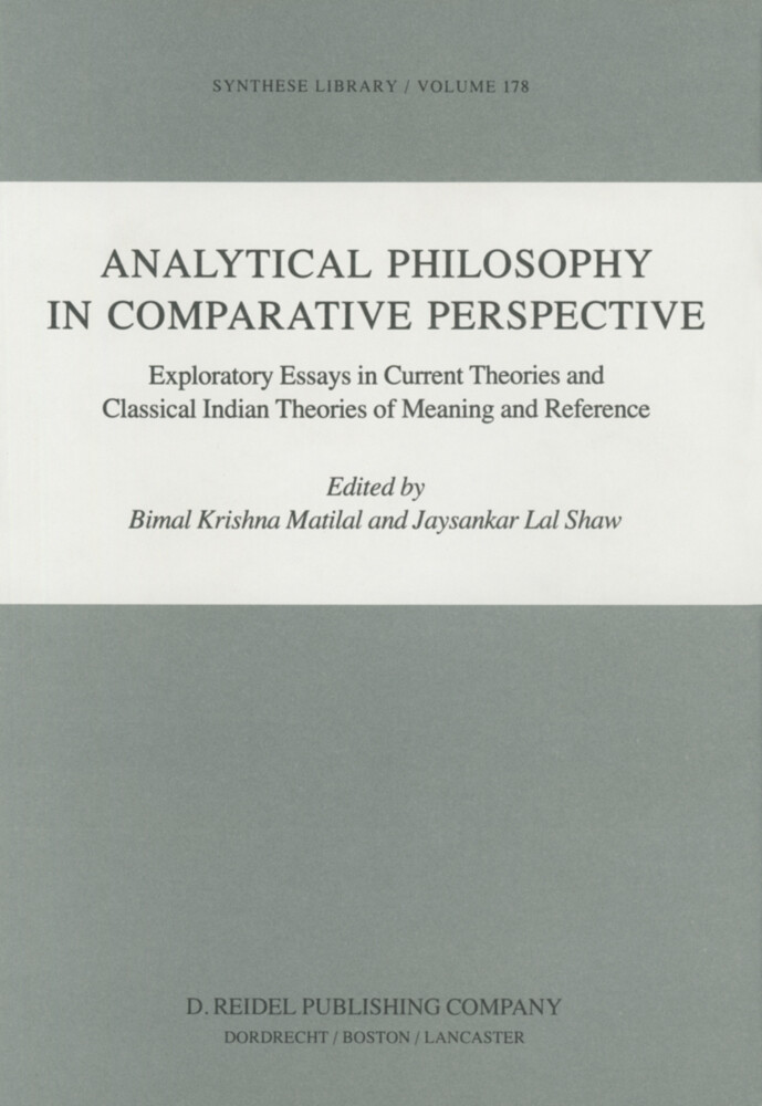 Analytical Philosophy in Comparative Perspective als Buch (gebunden)