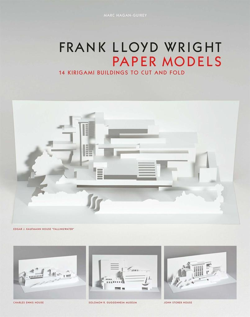 Frank Lloyd Wright Paper Models als Buch (kartoniert)