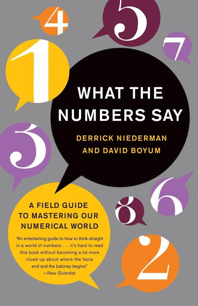 What The Numbers Say als Taschenbuch