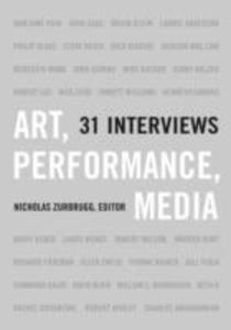 Art, Performance, Media als Taschenbuch