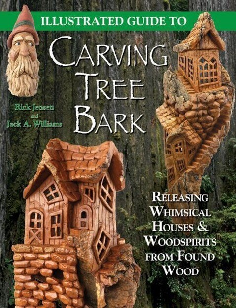 Illustrated Guide to Carving Tree Bark als Taschenbuch