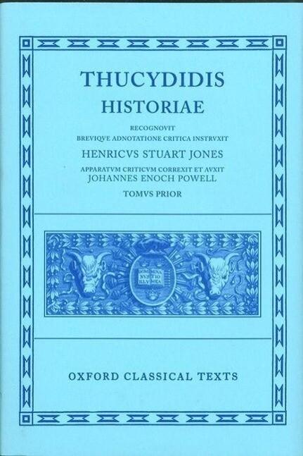 Thucydides Historiae Vol. I: Books I-IV als Buch (gebunden)