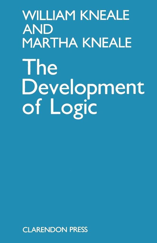 The Development of Logic als Buch (kartoniert)
