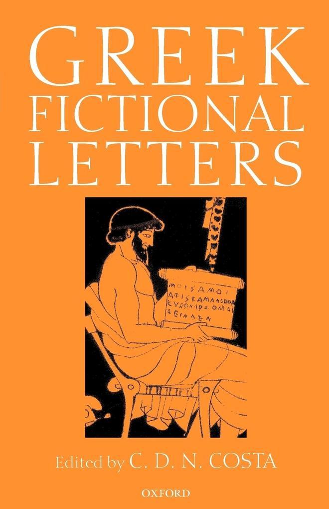Greek Fictional Letters als Buch (kartoniert)