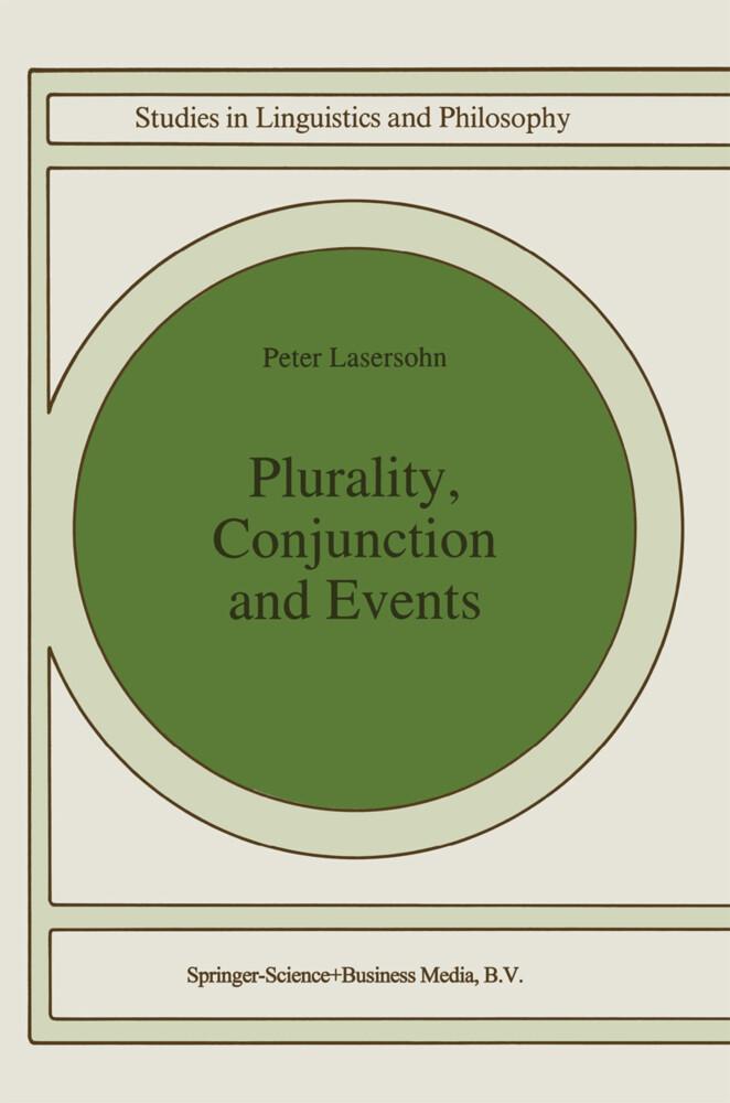 Plurality, Conjunction and Events als Buch (gebunden)