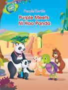 Purple Turtle - Purple Meets Ni Hao Panda