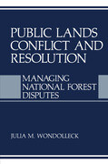 Public Lands Conflict and Resolution
