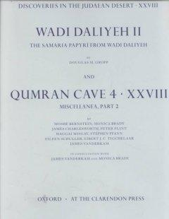 Wadi Daliyeh II and Qumran Miscellanea, Part 2: The Samaria Papyri from Wadi Daliyeh als Buch (gebunden)