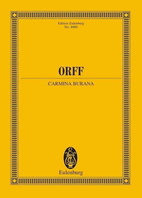 Carmina Burana als Buch (kartoniert)