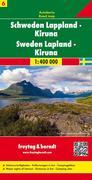 FuB Schweden 06 Lappland / Kiruna 1 : 400 000. Autokarte