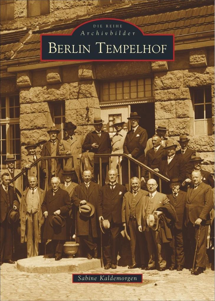 Berlin - Tempelhof als Buch (gebunden)