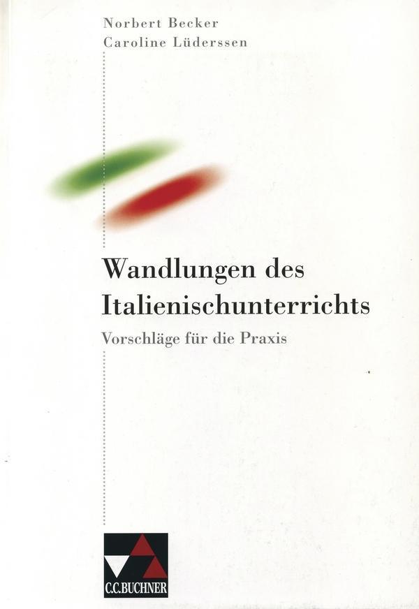 Wandlungen des Italienischunterrichts als Buch (kartoniert)