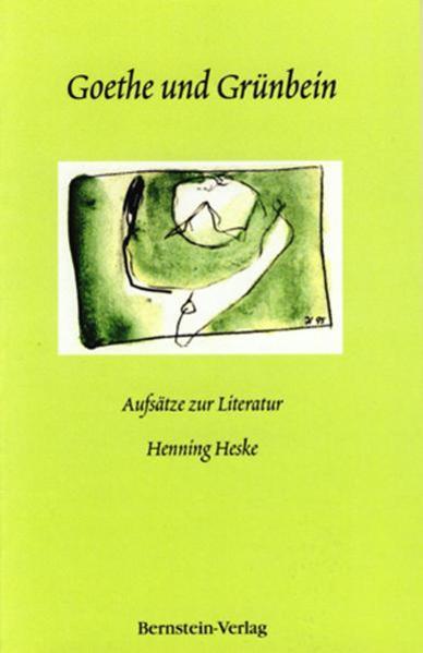 Goethe und Grünbein als Buch (kartoniert)