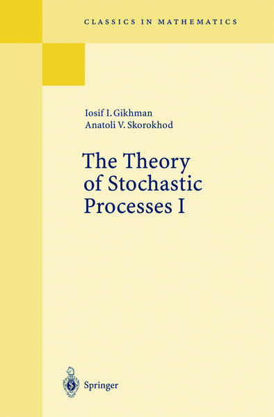 The Theory of Stochastic Processes I als Buch (kartoniert)