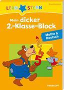 Mein dicker 2.-Klasse-Block Mathe & Deutsch