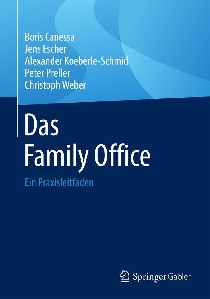 Das Family Office als eBook pdf