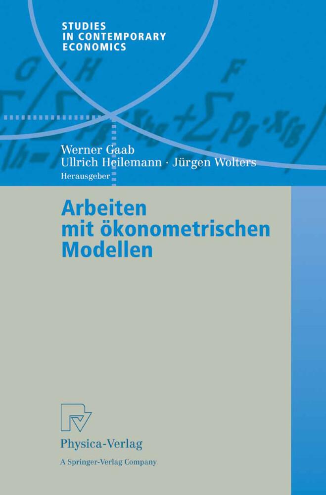 Arbeiten mit ökonometrischen Modellen als Buch (kartoniert)