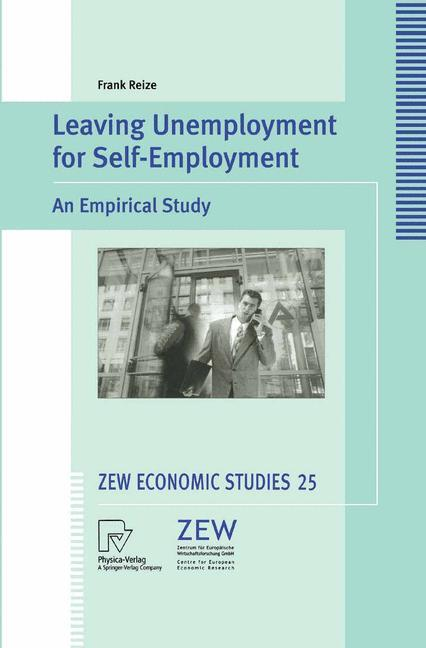 Leaving Unemployment for Self-Employment als Buch (gebunden)