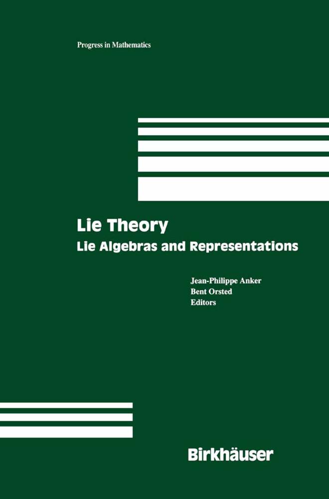Lie Theory als Buch (gebunden)