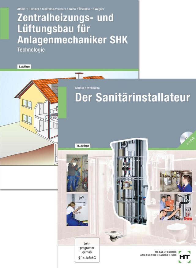 Paketangebot Der Sanitärinstallateur + Zentralheizungs- und Lüftungsbau für Anlagenmechaniker als Buch (kartoniert)