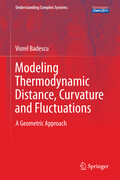 Modeling Thermodynamic Distance, Curvature and Fluctuations