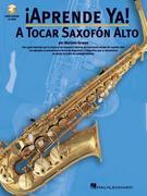 A Tocar Saxofon Alto [With CD]